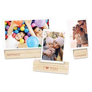 Fujifilm Instax Mini Wooden Photo Holders - 3 Pack