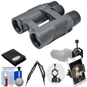Fujifilm Fujinon KF W 10x32 Binoculars with Case with Smartphone Adapter and Harness and Cleaning Kit