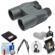 Fujifilm Fujinon KF H 10x42 Binoculars with Case with Smartphone Adapter + Harness + Cleaning Kit