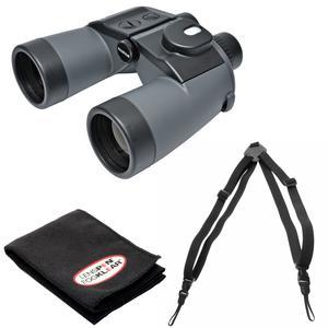 Fujifilm Fujinon Mariner 7x50 WPC-XL Waterproof-Fogproof Binoculars with Compass and Harness and Cleaning Cloth