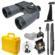 Fujifilm Fujinon Mariner 7x50 WPC-XL Waterproof / Fogproof Binoculars with Compass + Waterproof Hard Case + Monopod + Tripod Adapter + Smartphone Adapter