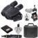 Fujifilm Fujinon Techno-Stabi JR TS1232 12x32 Image Stabilized Binoculars & Case with Waterproof Hard Case + Smartphone Adapter + LensPen Cleaning Kit