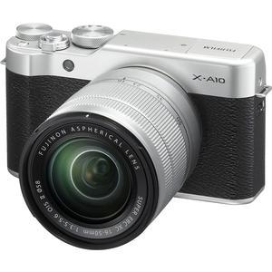 Fujifilm X-A10 Wi-Fi Digital Camera and 16-50mm II XC Lens