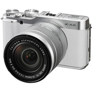 Fujifilm X-A2 Wi-Fi Digital Camera and 16-50mm XC Lens (White)