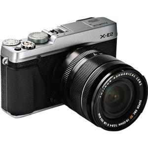 Fujifilm X-E2 Digital Camera And 18-55mm XF Lens (Silver)