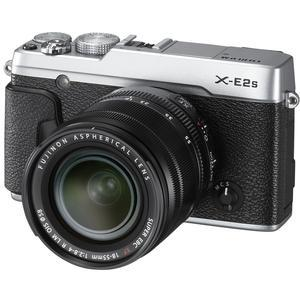 Fujifilm X-E2S Wi-Fi Digital Camera and 18-55mm XF Lens - Silver -