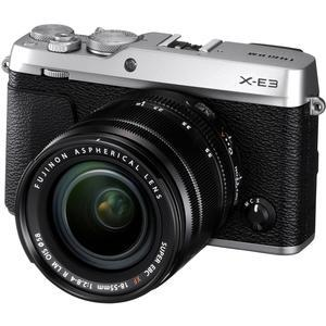 Fujifilm X-E3 4K Digital Camera and 18-55mm XF Lens - Silver -