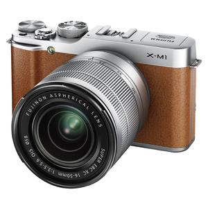 Fujifilm X-M1 Digital Camera And 16-50mm XC Lens (Brown)