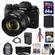 Fujifilm X-T1 Weather Resistant Digital Camera & 18-135mm XF Lens with 64GB Card + Battery & Charger + Backpack + Tripod + Filters Kit