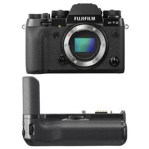 Fujifilm X-T2 4K Wi-Fi Digital Camera Body with Fujifilm VPB-XT2 Vertical Power Booster Battery Grip