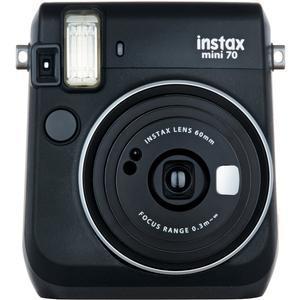 Fujifilm Instax Mini 70 Instant Film Camera-Midnight Black -