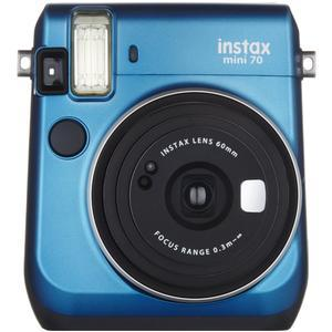 Fujifilm Instax Mini 70 Instant Film Camera - Blue -