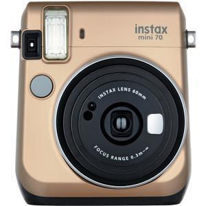 Fujifilm Instax Mini 70 Instant Film Camera-Stardust Gold -