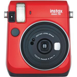 Fujifilm Instax Mini 70 Instant Film Camera - Passion Red -
