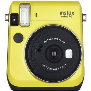 Fujifilm Instax Mini 70 Instant Film Camera - Yellow -
