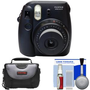 Review Fujifilm Instax Mini 8 Instant Film Camera (Black) with Case + Cleaning Kit Before Too Late