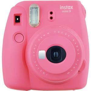 Fujifilm Instax Mini 9 Instant Film Camera - Flamingo Pink -