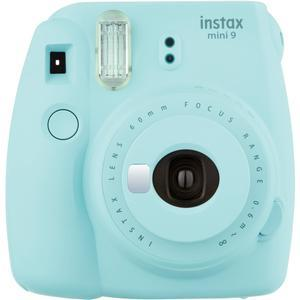 Fujifilm Instax Mini 9 Instant Film Camera - Ice Blue -