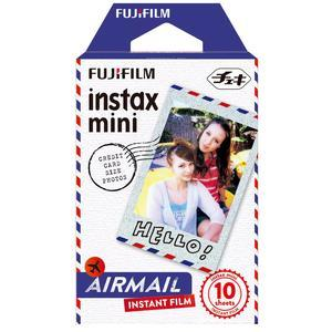 Fujifilm Instax Mini Airmail Instant Film-10 Color Prints -