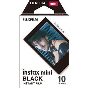Fujifilm Instax Mini Black Frame Film - 10 Prints -