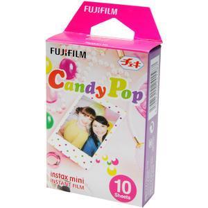 Fujifilm Instax Mini Candy Pop Instant Film - 10 Color Prints -