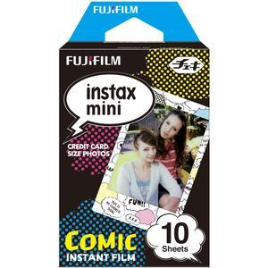 Fujifilm Instax Mini Comic Instant Film-10 Color Prints -