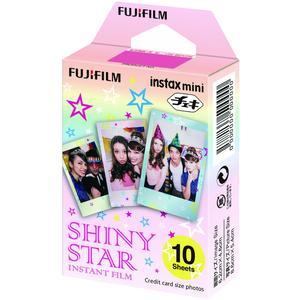 Fujifilm Instax Mini Shiny Star Instant Film-10 Color Prints -