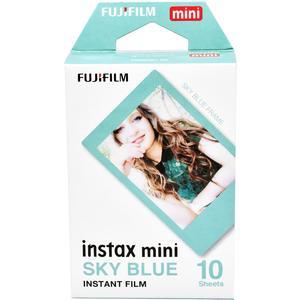 Fujifilm Instax Mini Sky Blue Frame Film-10 Prints -