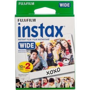 Fujifilm Instax Wide Twin Instant Film - 20 Color Prints -