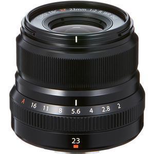 Fujifilm 23mm f-2.0 XF R WR Lens - Black -