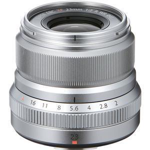 Fujifilm 23mm f-2.0 XF R WR Lens - Silver -