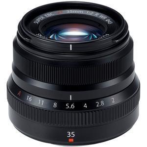 Fujifilm 35mm f-2.0 XF R WR Lens - Black -