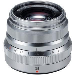 Fujifilm 35mm f-2.0 XF R WR Lens-Silver -