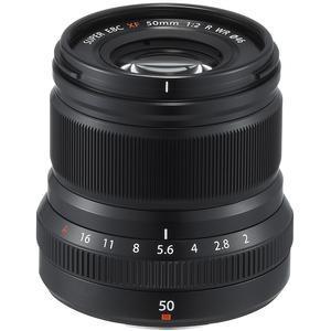 Fujifilm 50mm f-2.0 XF R WR Lens - Black -