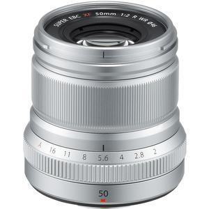 Fujifilm 50mm f-2.0 XF R WR Lens-Silver -