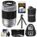 Fujifilm 50-230mm f/4.5-6.7 XC OIS Zoom Lens (Silver) with 3 UV/CPL/ND8 Filters + Backpack + Lens Pouch + Flex Tripod + Accessory Kit