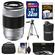 Fujifilm 50-230mm f/4.5-6.7 XC OIS Zoom Lens (Silver) with 32GB Card + 3 UV/CPL/ND8 Filters + Case + Lens Pouch + Tripod + Accessory Kit