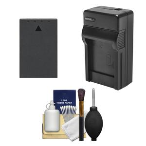 BLS-1- BLS-5 Battery and Charger Essential Bundle for Olympus OM-D E-M10 E-M10 II PEN E-PL5 E-PL6 E-PM2
