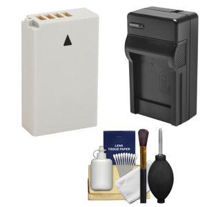 EN-EL24 Battery and Charger Essential Bundle for DL18-50 DL24-85 Nikon 1 J5 Digital Camera