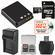 LB-080 Battery & Charger + 32GB microSD Card Essential Bundle for Kodak Pixpro SP360, SP360 4K, & Orbit360 4K