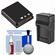 LB-080 Battery & Charger Essential Bundle for Kodak Pixpro SP360, SP360 4K, & Orbit360 4K