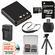 LB-080 Battery & Charger + 32GB microSD Card, Tripod & Strap Essential Bundle for Kodak Pixpro SP360, SP360 4K, & Orbit360 4K