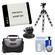 Essentials Bundle for GoPro HD HERO & HD HERO 2 with AHDBT-001 Battery + Tripod Mount Adapter + Case + Flex Tripod + Accessory Kit