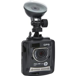 HP f310 1080p HD GPS G-Force Car Dashboard Video Recorder Camera with Suction Cup Mount