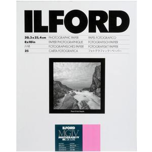 Ilford Multigrade IV Resin Coated RC DE LUXE 8 x 10 Paper (25 Sheets - Glossy)