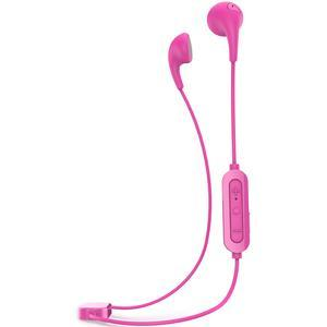 iLuv Bubble Gum Air Inner Ear Bluetooth Headphones - Pink - with Built-in Mic