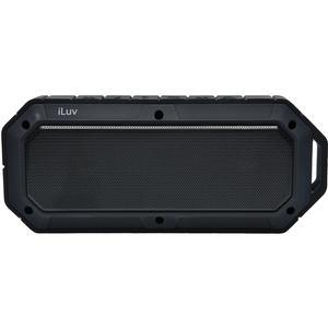 iLuv Collision Rugged Shockproof and Water Resistant Wireless Bluetooth Speaker