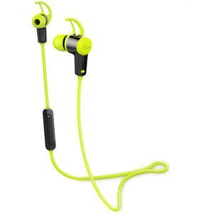 iLuv FitActive Jet Inner Ear Bluetooth Stereo Sport Headphones-Green-with Mic and Multimedia Function