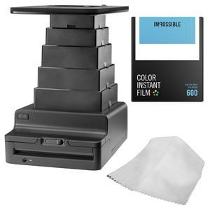 Impossible Instant Lab 2.0 Universal for Tablets and Smartphones with PRD4514 Color Instant Film and Cleaning Cloth
