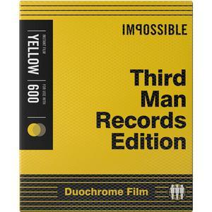 Impossible PRD-4158 Black - Yellow Duochrome Film - Third Man Records Edition - for Polaroid 600-Type Cameras